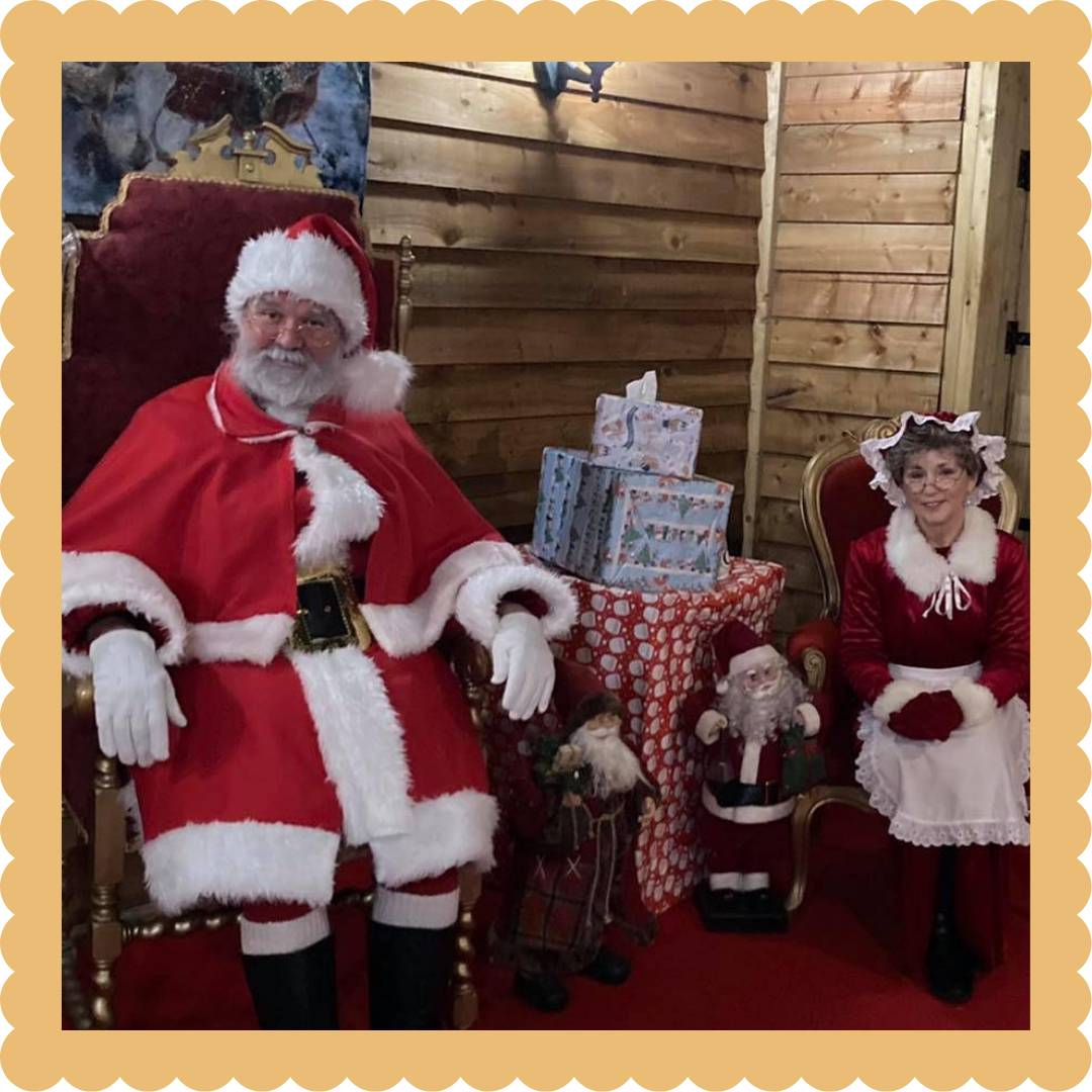 Santa's Grotto At The Olde Watermill